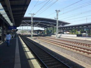 Der ICE-Bahnhof in Montabaur in Blickrichtung Köln vor wenigen Wochen.
