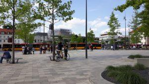 Der Freiheitsplatz in Hanau aus anderem Blickwinkel.