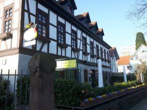 Der Landgasthof Anker im Hanauer Stadtteil Kesselstadt.