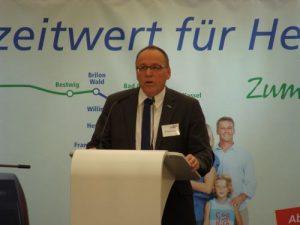 Der seitherige NVV-Geschäftsführer Wolfgang Rausch. (Bildherkunft PRO BAHN Hessen)