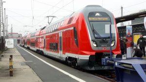 Ein Twindexx-Doppelstock-Zug von Bombardier.